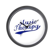 Team Music Therapy Wall Clock