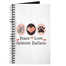 Peace Love Spinone Italiano Journal