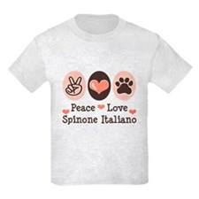 Peace Love Spinone Italiano T-Shirt