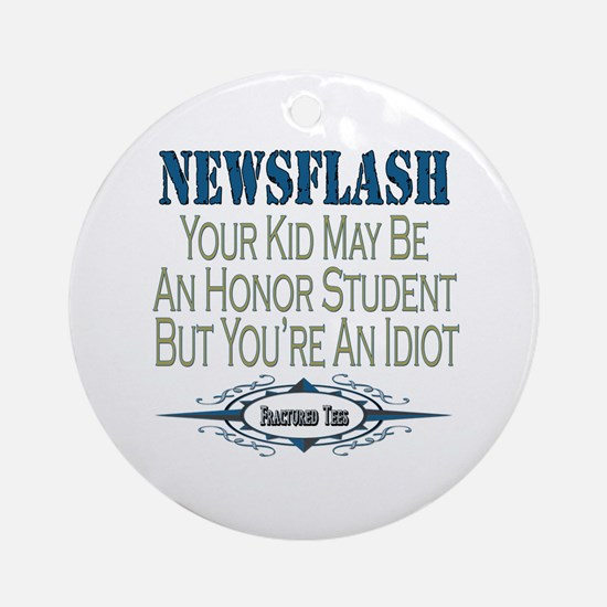 Honor Student Ornament (Round)