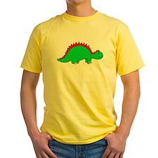 Smiling Green Stegosaurus T