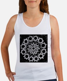 Antique Lace Design Women's Tank Top