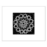 Antique Lace Design Small Poster