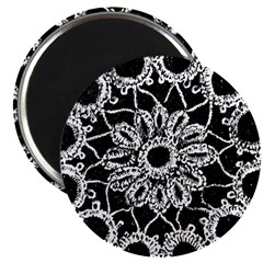 Antique Lace Design Magnet