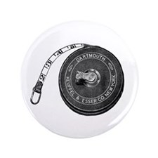 """Sewing - Vintage Tape Measure 3.5"""" Button"""