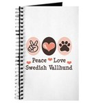 Peace Love Swedish Vallhund Journal
