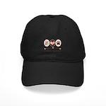 Peace Love Swedish Vallhund Black Cap