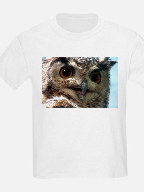 Mysterious Owl! Kids T-Shirt