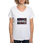 Sewing - Thread - Create Women's V-Neck T-Shirt