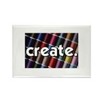 Sewing - Thread - Create Rectangle Magnet (100 pac