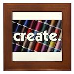 Sewing - Thread - Create Framed Tile