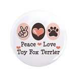 Peace Love Toy Fox Terrier 3.5
