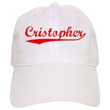 Vintage Cristopher (Red) Baseball Cap