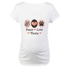 Peace Love Vizsla Shirt
