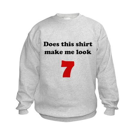 Make Me Look 7 Kids Sweatshirt