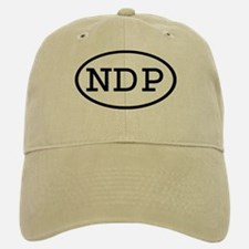 NDP Oval Baseball Baseball Cap
