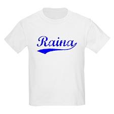 Vintage Raina (Blue) T-Shirt