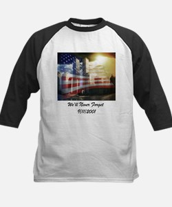 We'll Never Forget Kids Baseball Jersey