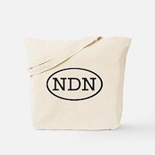NDN Oval Tote Bag