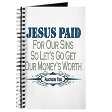 Jesus Paid Journal