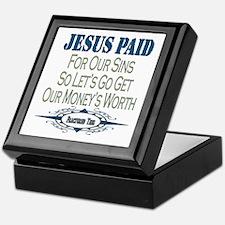 Jesus Paid Keepsake Box