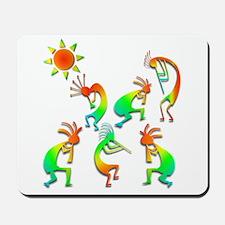 Kokopelli Sun Dance Mousepad