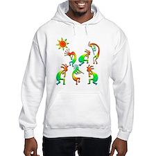 Kokopelli Sun Dance Hoodie