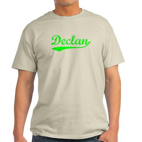 Vintage Declan (Green) Light T-Shirt