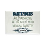 Bartenders Rectangle Magnet (10 pack)
