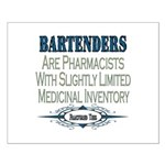 Bartenders Small Poster