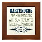 Bartenders Framed Tile