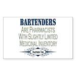 Bartenders Rectangle Sticker