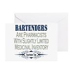 Bartenders Greeting Cards (Pk of 20)