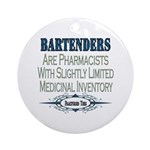 Bartenders Ornament (Round)
