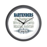 Bartenders Wall Clock