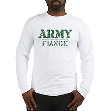 Army Fiance Long Sleeve T-Shirt