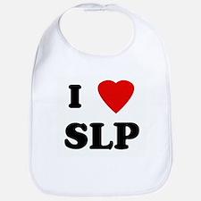 I Love SLP Bib