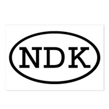 NDK Oval Postcards (Package of 8)