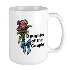 Daughter of the Couple Large Mug