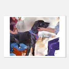 Loving A Great Dane Postcards (Package of 8)