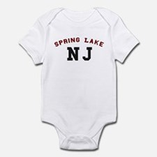 Spring Lake NJ Jersey Shore Infant Bodysuit
