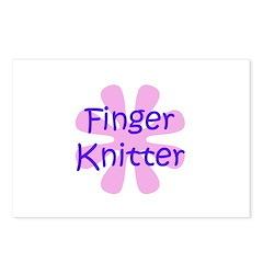 Finger Knitter Postcards (Package of 8)