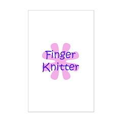 Finger Knitter Posters