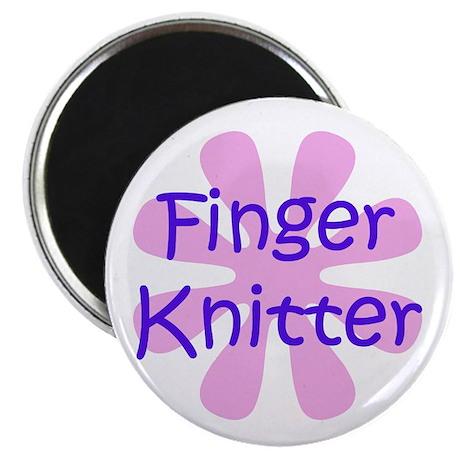 Finger Knitter Magnet