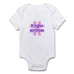 Finger Knitter Infant Bodysuit