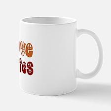 Peace, Love and Veggies Mug