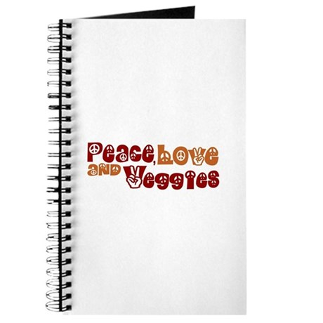 Peace, Love and Veggies Journal