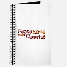Peace, Love and Veggies Journal