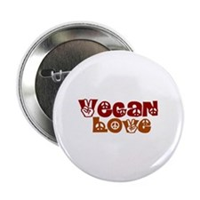"Vegan Love 2.25"" Button"
