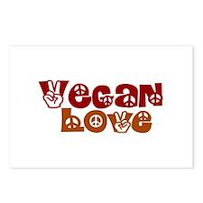 Vegan Love Postcards (Package of 8)